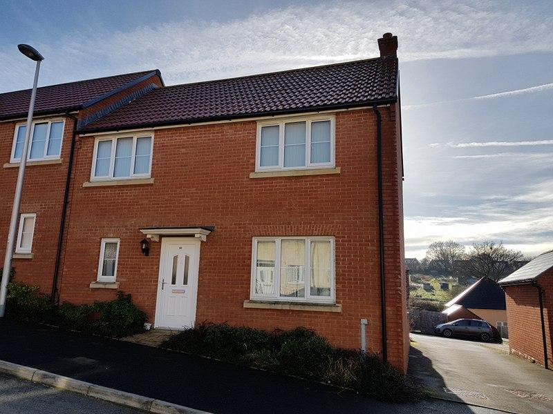3 Bedrooms End Of Terrace House for sale in Dukes Way, Axminster