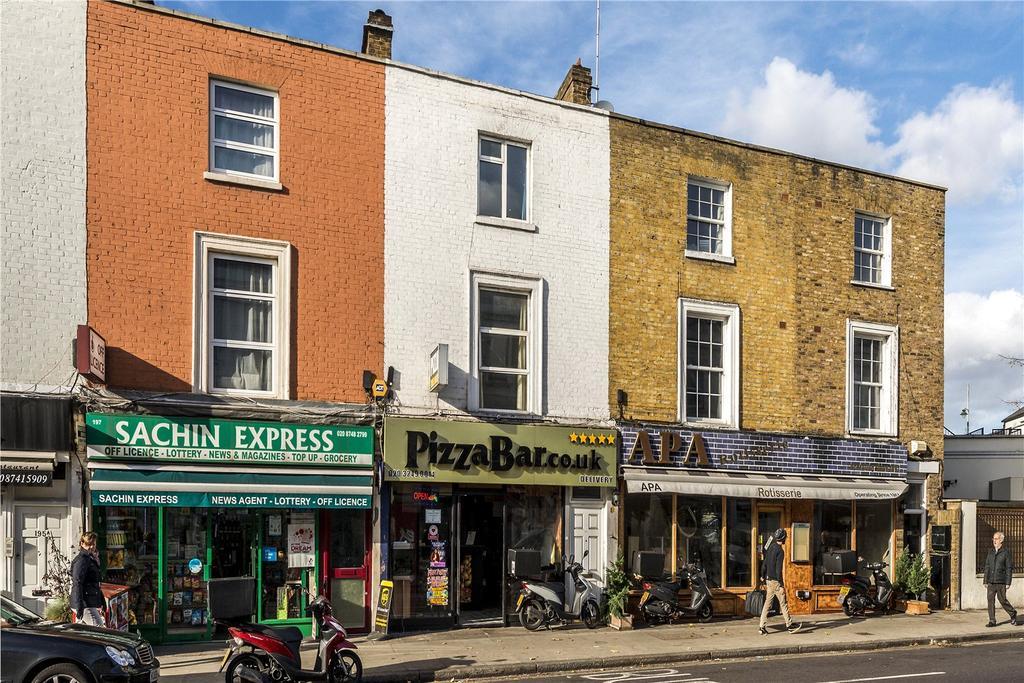 2 Bedrooms Terraced House for sale in Castelnau, London, SW13
