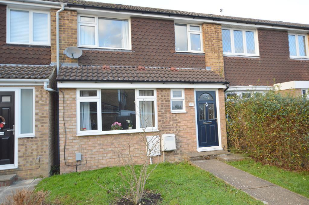 3 Bedrooms Terraced House for sale in Telscombe Way, Stopsley, Luton, LU2 8JW