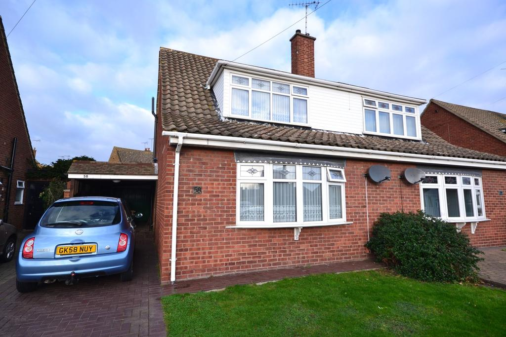3 Bedrooms Semi Detached House for sale in Goldsmiths Avenue, Corringham, Stanford-le-Hope, SS17