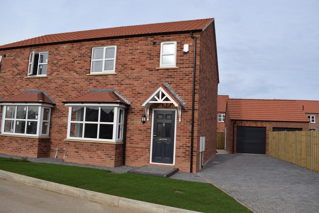 3 Bedrooms Semi Detached House for sale in The Hornbeam, Plot 49, The Maples, Holton-le-Clay