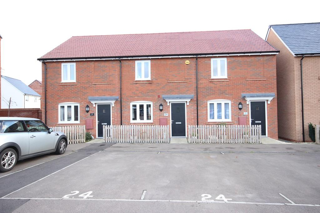 2 Bedrooms Terraced House for sale in Chestnut Avenue, Silsoe, MK45