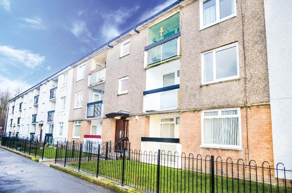 2 Bedrooms Flat for sale in Tarfside Gardens, Flat 1/2, Cardonald, Glasgow, G52 3AA