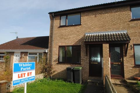 2 bedroom terraced house to rent - Wheatfields, Rickinghall