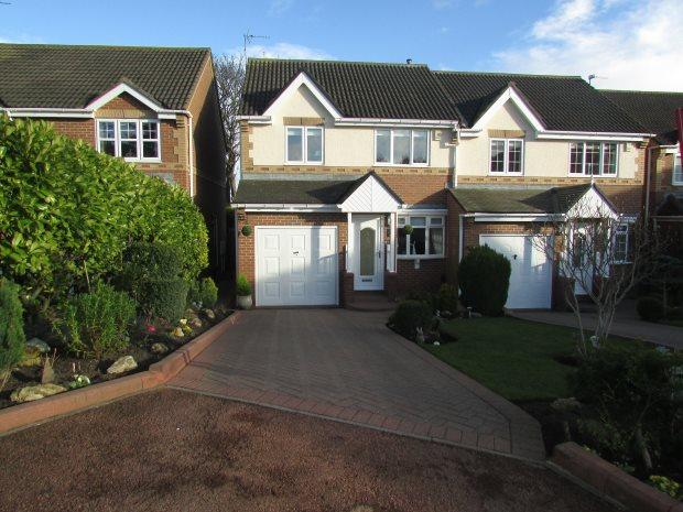 3 Bedrooms Semi Detached House for sale in HART PASTURES, HART VILLAGE, HARTLEPOOL