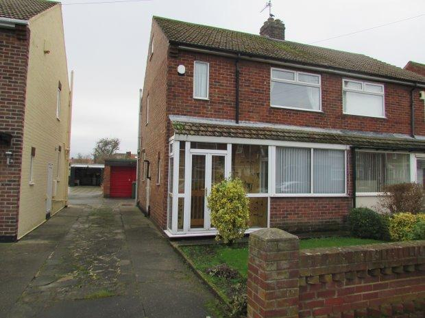 2 Bedrooms Semi Detached House for sale in MARDALE AVENUE, STOCKTON ROAD, HARTLEPOOL