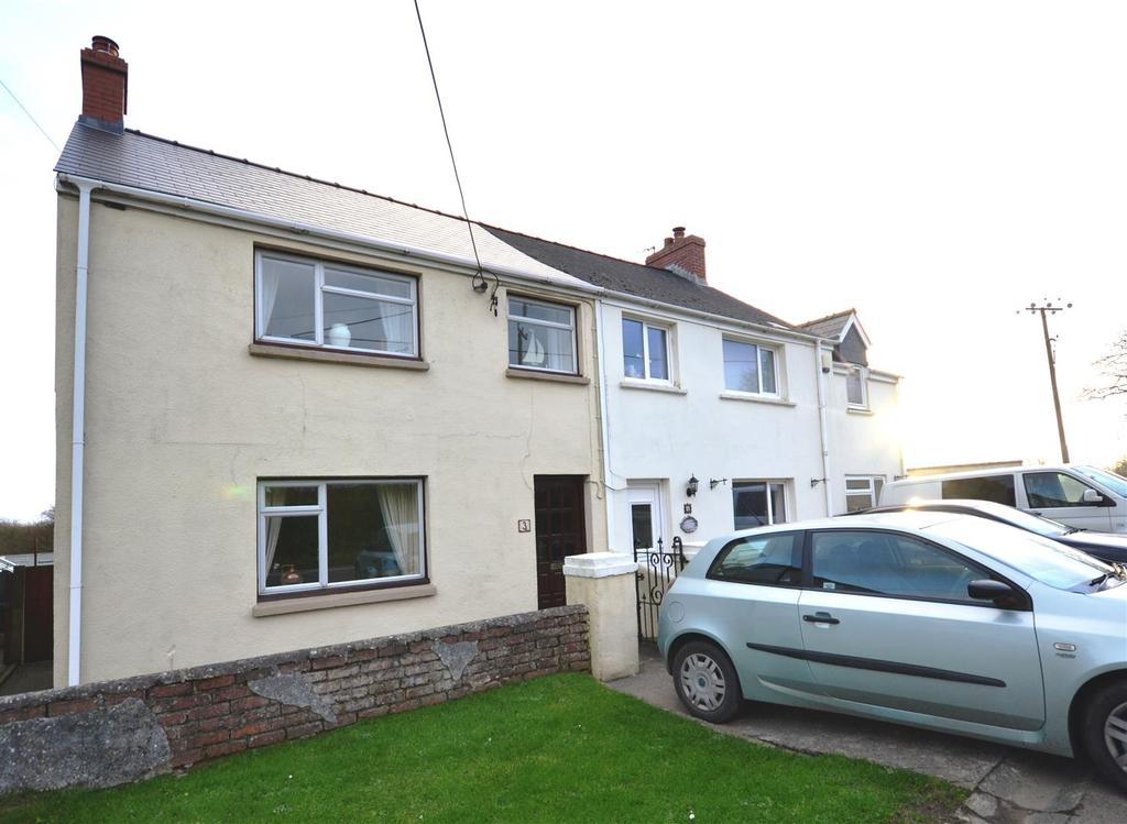 3 Bedrooms Semi Detached House for sale in Freystrop, Haverfordwest