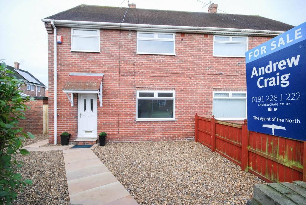 3 Bedrooms Semi Detached House for sale in Kirkwood Gardens, Wardley