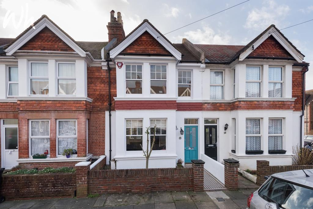 3 Bedrooms Terraced House for sale in Frith Road, Hove BN3