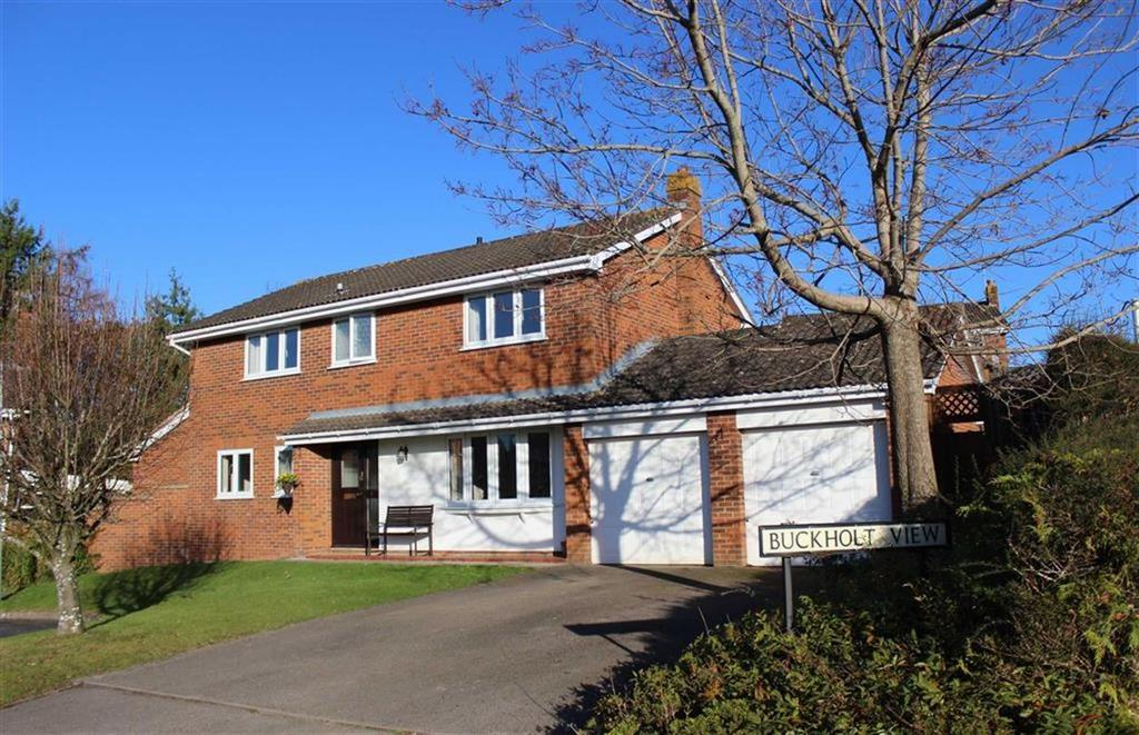 4 Bedrooms Detached House for sale in Buckholt View, Monmouth