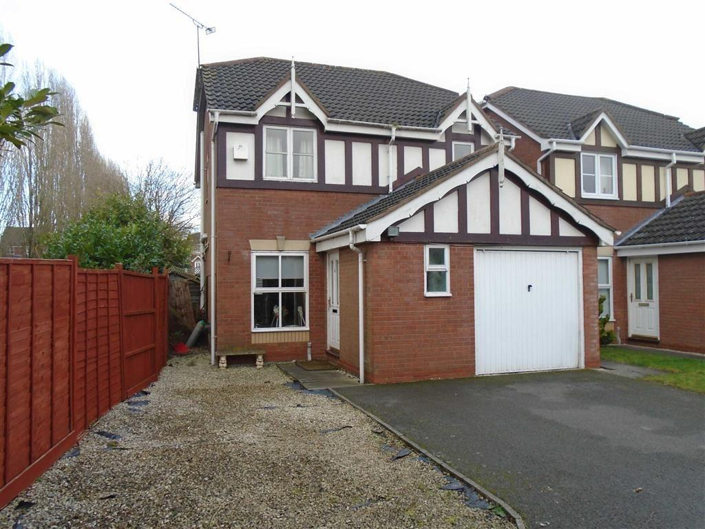 3 Bedrooms Detached House for sale in Ashridge Close, Maple Park, Nuneaton, Warwickshire, CV11