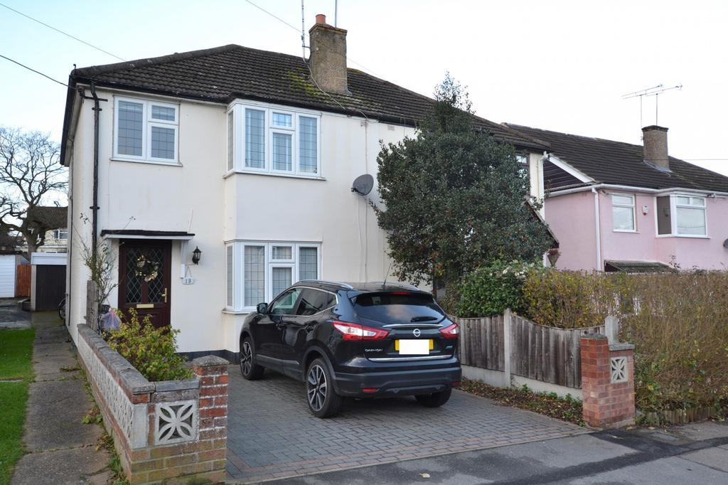 3 Bedrooms Semi Detached House for sale in The Rising, Billericay, Essex, CM11