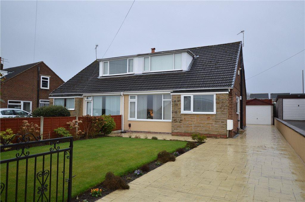 3 Bedrooms Semi Detached Bungalow for sale in Kingsdale Gardens, Drighlington, Bradford