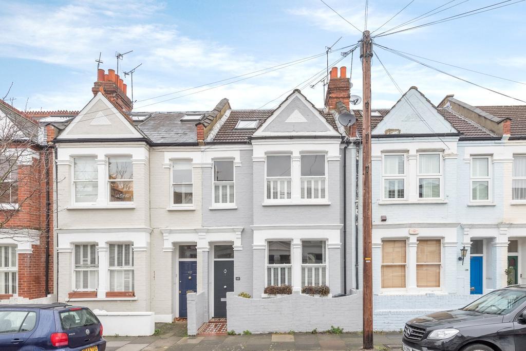 4 Bedrooms Terraced House for sale in Rowallan Road, Fulham, London