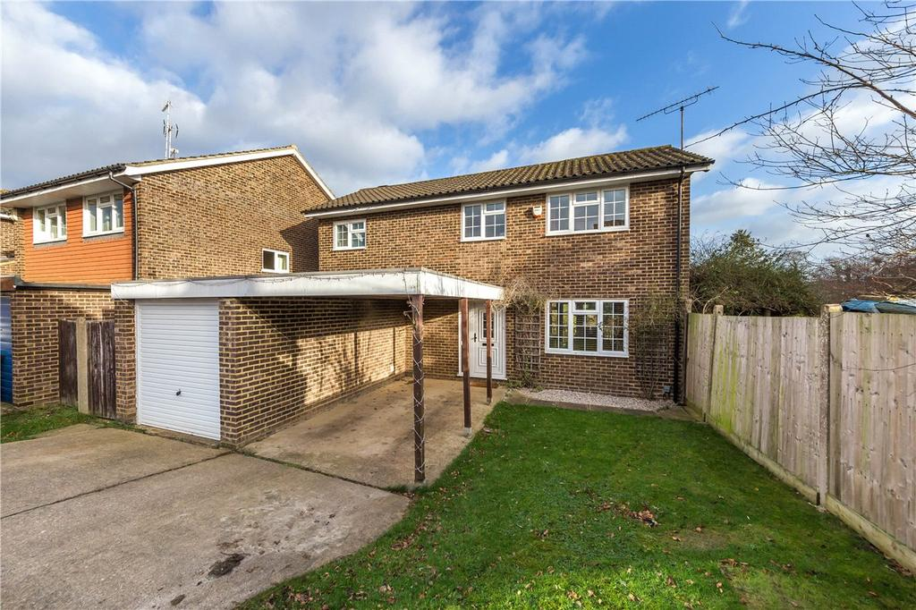 4 Bedrooms Detached House for sale in Aran Close, Harpenden, Hertfordshire
