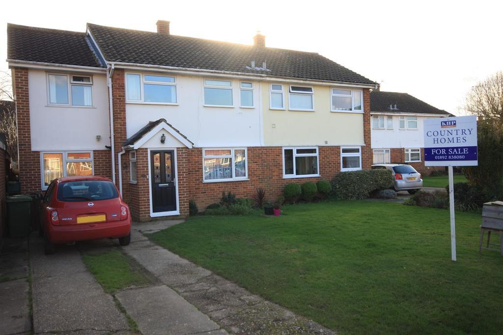 4 Bedrooms Semi Detached House for sale in Nortons Way, Five Oak Green