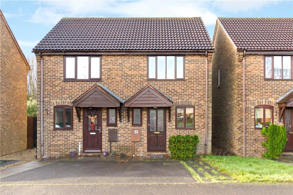 2 Bedrooms Semi Detached House for rent in Sorrell Drive, Newport Pagnell, Buckinghamshire