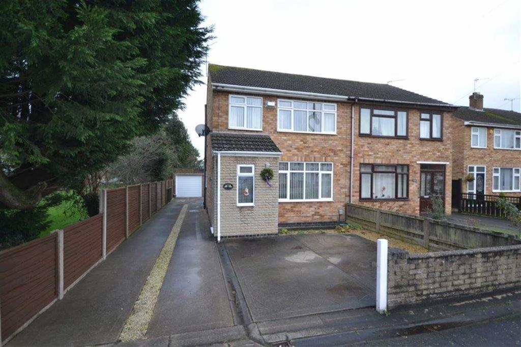 3 Bedrooms Semi Detached House for sale in Heath End Road, Stockingford, Nuneaton