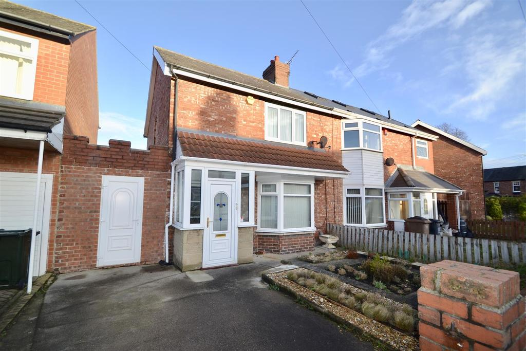 3 Bedrooms Semi Detached House for sale in Greenhaugh Road, West Monkseaton