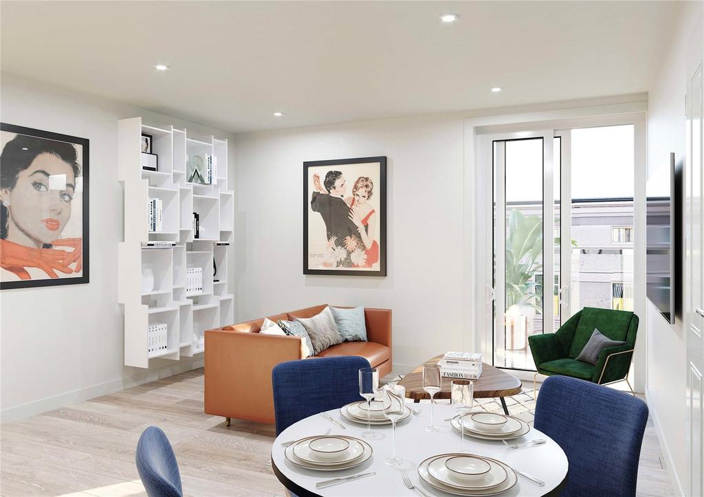 1 Bedroom Flat for sale in Brassey House, New Zealand Avenue, KT12