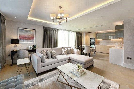 2 Bedrooms Flat for sale in Benson House, Radnor Terrace, London, W14