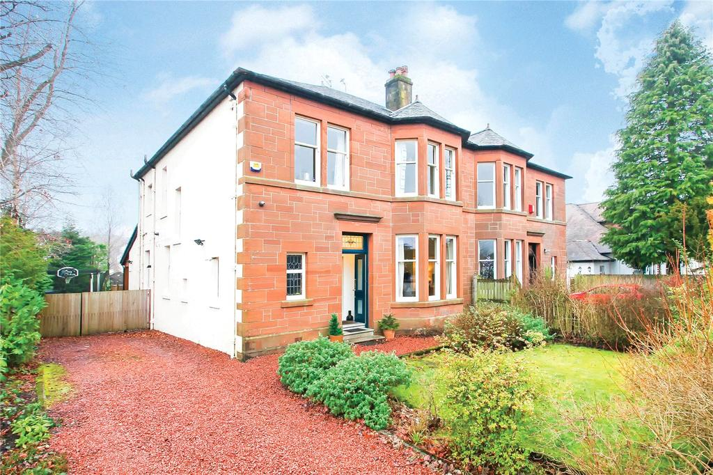 4 Bedrooms Semi Detached House for sale in Norwood Drive, Giffnock, Glasgow