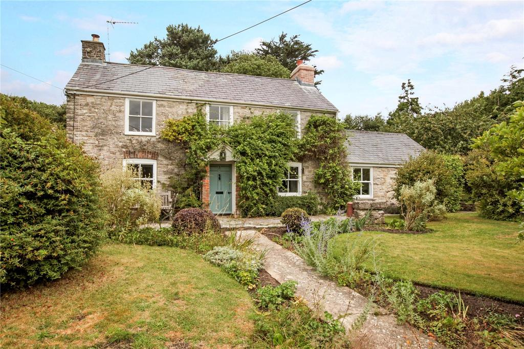 4 Bedrooms Detached House for sale in Church Knowle, Wareham, Dorset, BH20