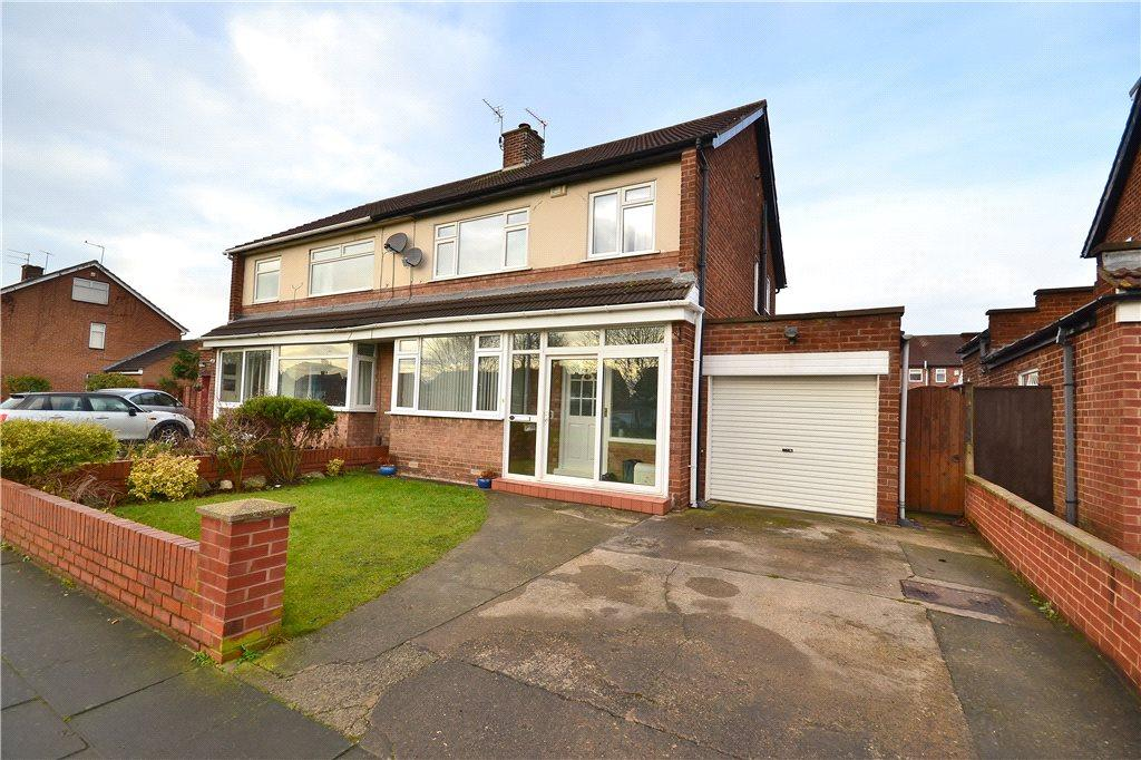 3 Bedrooms Semi Detached House for sale in Marrick Road, Hartburn, Stockton-On-Tees