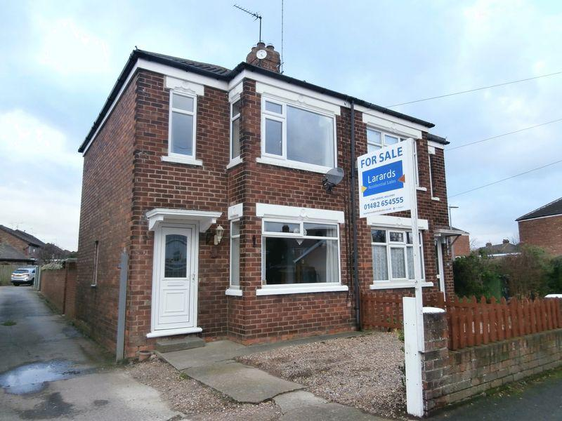 2 Bedrooms Semi Detached House for sale in Aston Road, Willerby