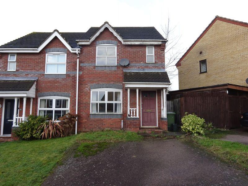 2 Bedrooms Semi Detached House for sale in Thistledown Road, Horsford, Norwich