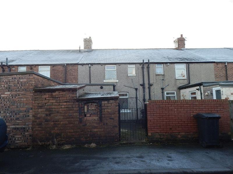 3 Bedrooms Terraced House for sale in Wembley Terrace, Cambois, Blyth