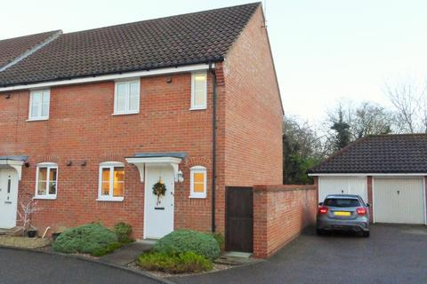 2 bedroom end of terrace house for sale - Catton
