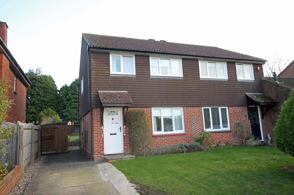 3 Bedrooms Semi Detached House for sale in Trevose Way, Titchfield Common PO14