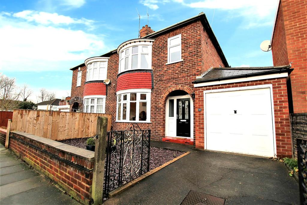 3 Bedrooms Semi Detached House for sale in Kilburn Road, Stockton-on-Tees