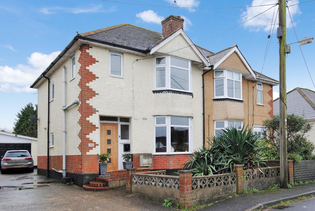 3 Bedrooms Semi Detached House for sale in Marina Road, Durrington, Salisbury, SP4 8DB