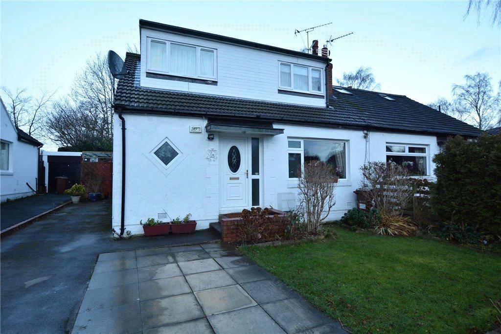 3 Bedrooms Semi Detached Bungalow for sale in Sandy Walk, Bramhope, Leeds
