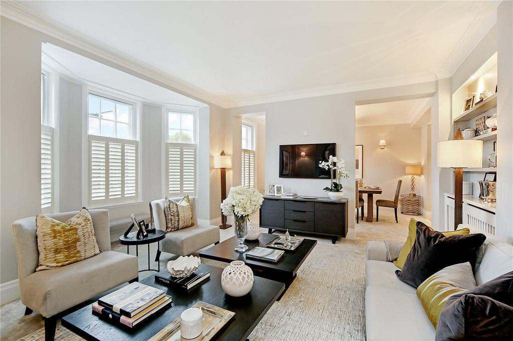 3 Bedrooms Flat for sale in Malvern Court, Onslow Square, South Kensington, London