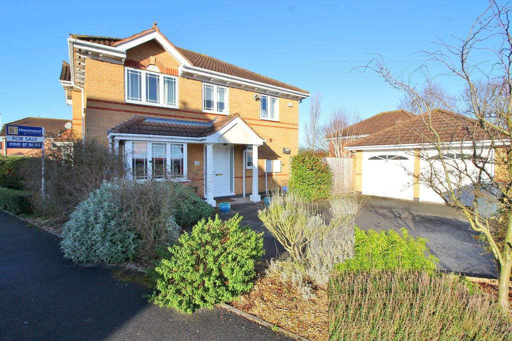 4 Bedrooms Detached House for sale in Speedwell Close, Bingham, Nottingham, Nottinghamshire NG13