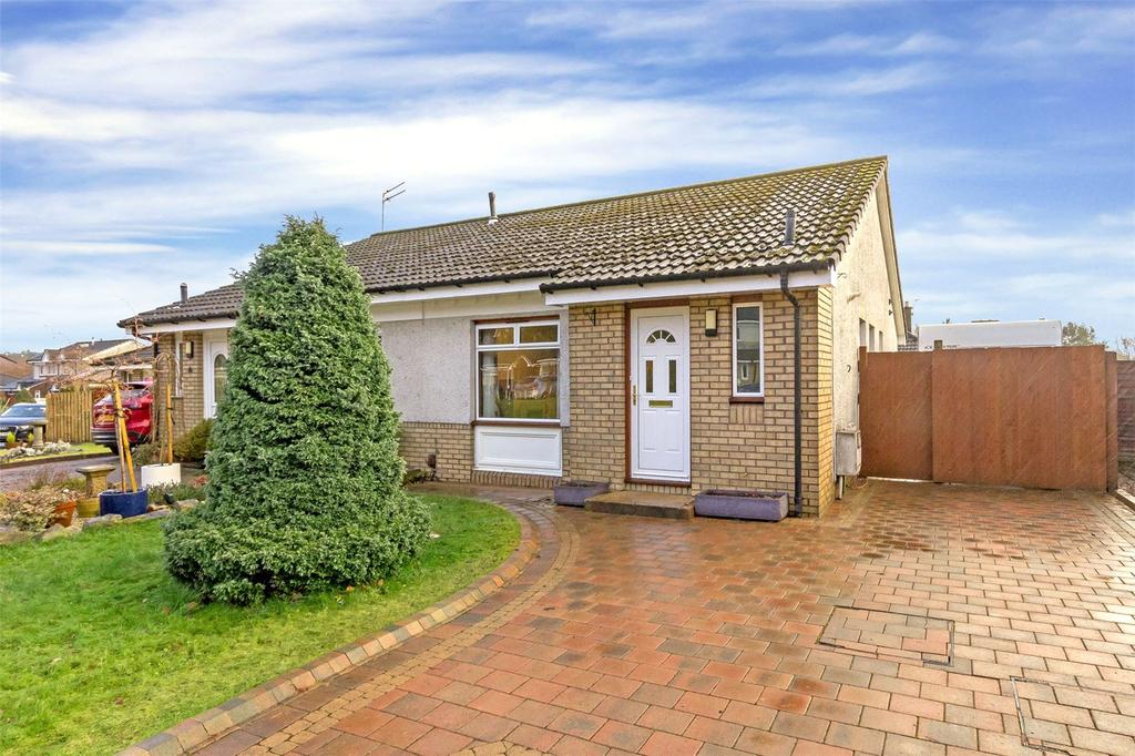 2 Bedrooms Semi Detached Bungalow for sale in 23 Primrose Place, Livingston, West Lothian, EH54