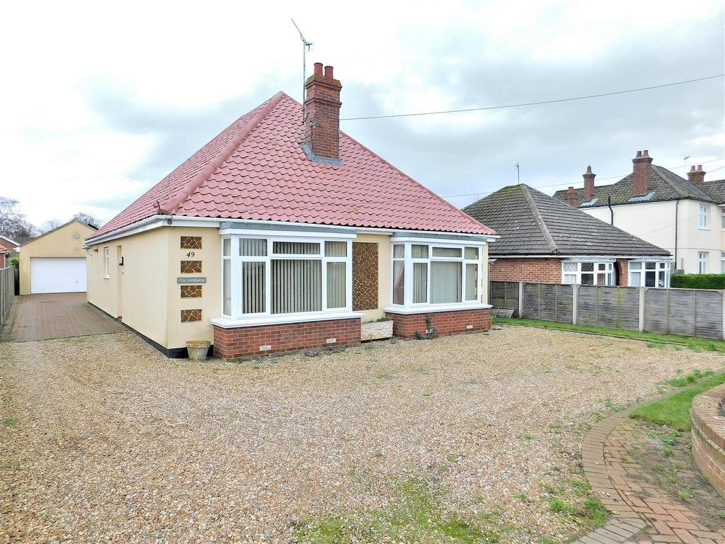 3 Bedrooms Detached Bungalow for sale in Lynn Road, Dersingham, King's Lynn