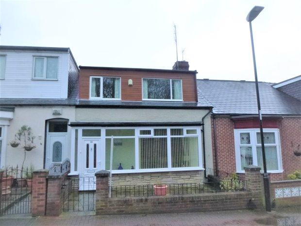 3 Bedrooms Terraced Bungalow for sale in BANCROFT TERRACE, OFF HYLTON ROAD, SUNDERLAND SOUTH