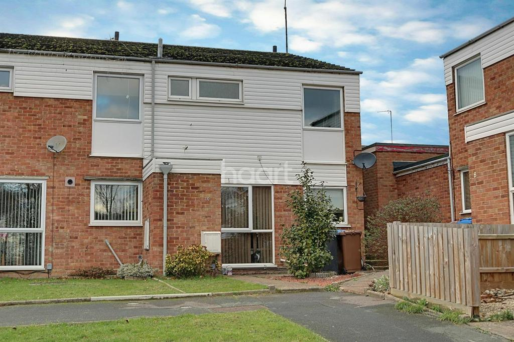 3 Bedrooms End Of Terrace House for sale in Abbotsbury Close, Ipswich