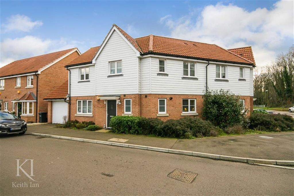 3 Bedrooms Semi Detached House for sale in Aldermere Avenue, Cheshunt