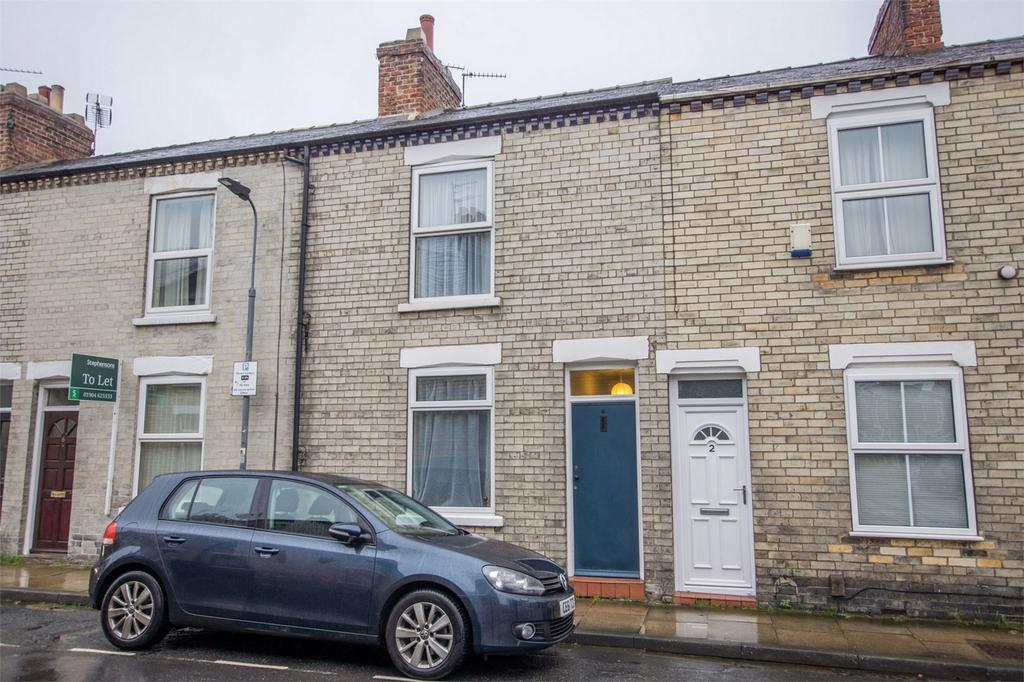 2 Bedrooms Terraced House for sale in Eldon Terrace, The Groves, York