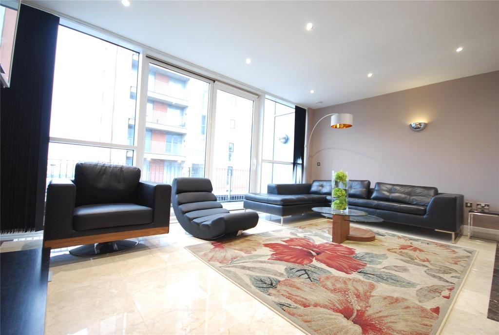2 Bedrooms Flat for rent in Marmara Apartments, 13 Western Gateway, London