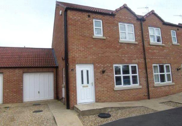 3 Bedrooms Semi Detached House for sale in Hereward Way, Billingborough, Sleaford, NG34