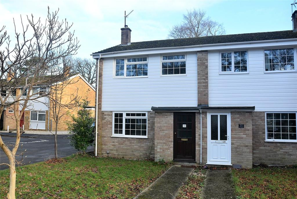 2 Bedrooms End Of Terrace House for sale in Mornington Close, Baughurst, Tadley, Hampshire, RG26