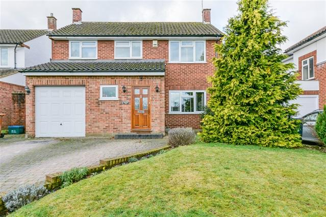 4 Bedrooms Detached House for sale in Fordwich Rise, Hertford