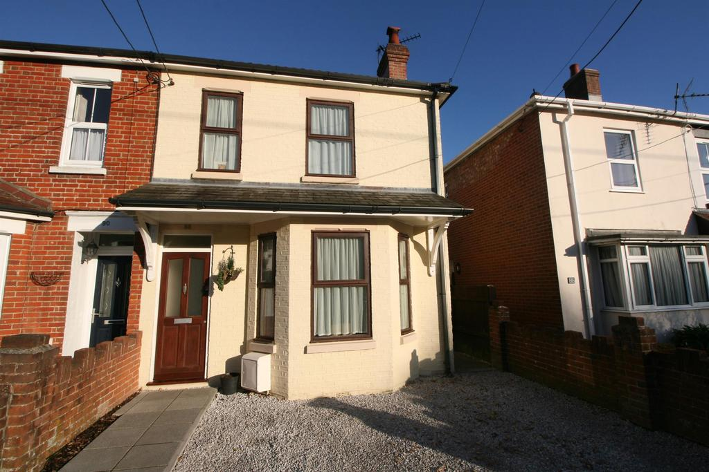 3 Bedrooms Semi Detached House for sale in Woolston Road, Netley Abbey, Southampton, SO31 5FJ