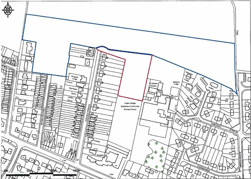 Land Commercial for sale in Chestnut Terrace, Sutton Bridge
